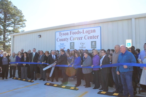 Tyson Foods-Logan County Career Center Grand Opening