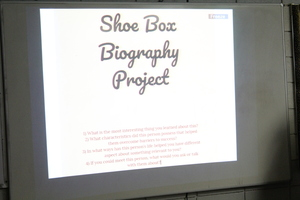 Shoe Box Biographies
