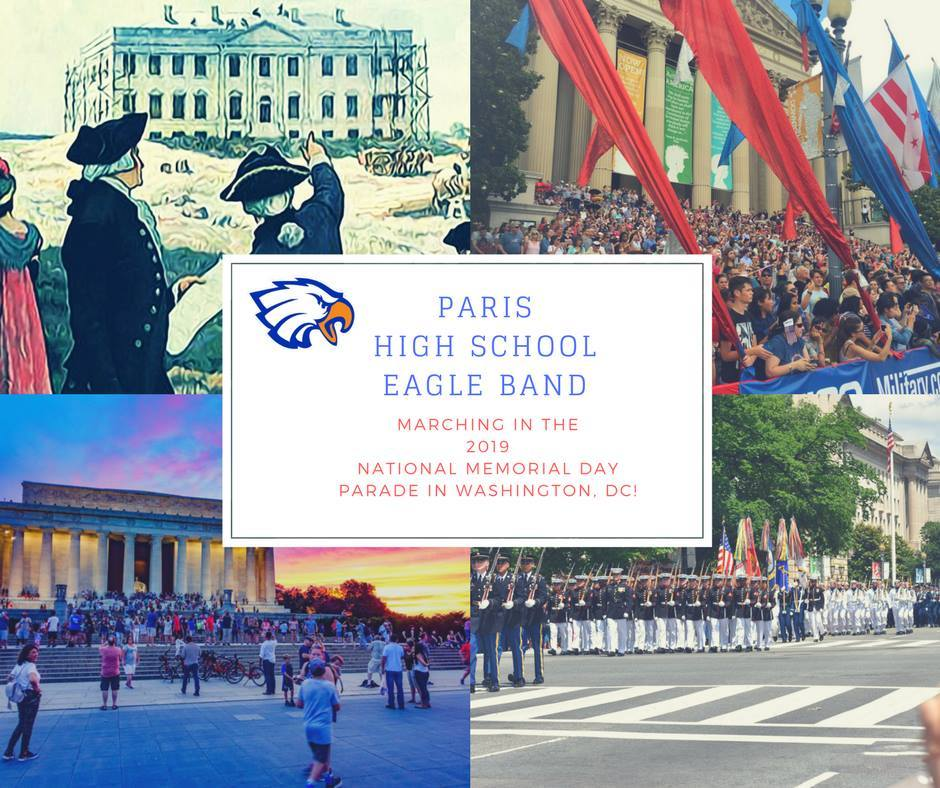 PHS Band Selected to March in National Parade