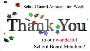 Thank you Paris School District Board Members!