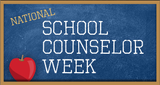 We Appreciate Our School Counselors - April Moss, Andrea Robertson, and Rene Kiefer