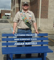 Eagle Scout Provides Buddy Benches for District