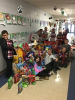 Second Grade Hosts Successful Pet Food Drive