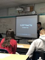 8th Grade Math Students Present Planned Road Trips