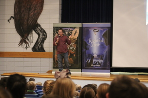 Children's Author Visits PES