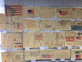 7th grade creates WWII posters