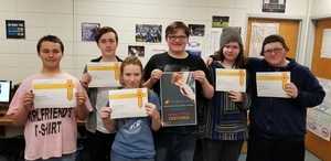 PHS Students earn Google Certification