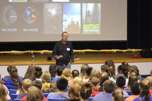 Eric Walters, Award-Winning Author, Visits PMS