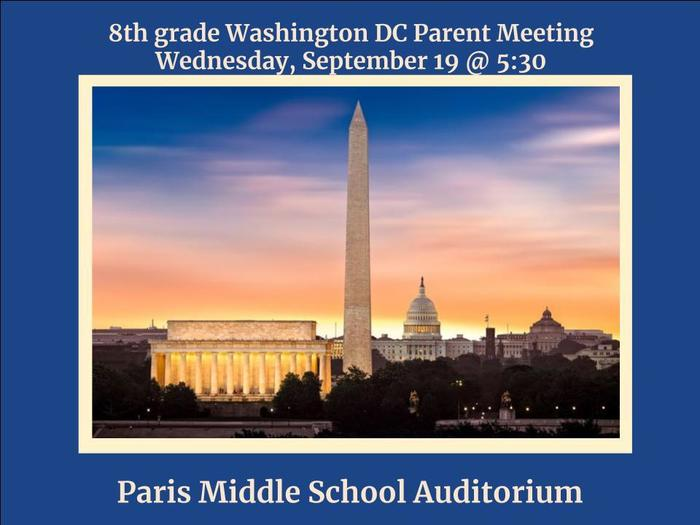 DC parent meeting