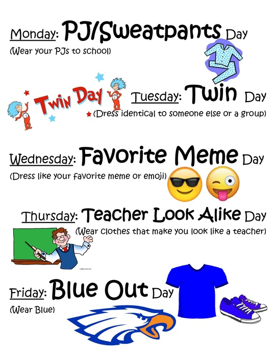 HC dress up days