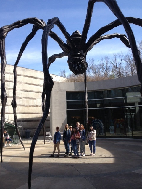 AP art at Crystal Bridges