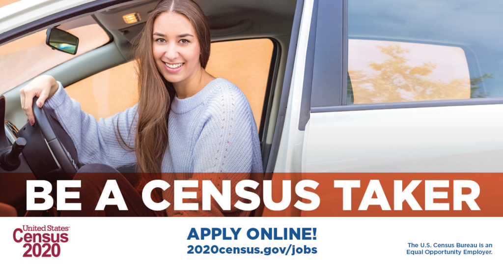 census recruitment event