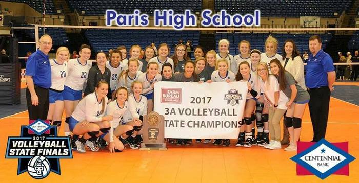 2017 3A Volleyball State Champs