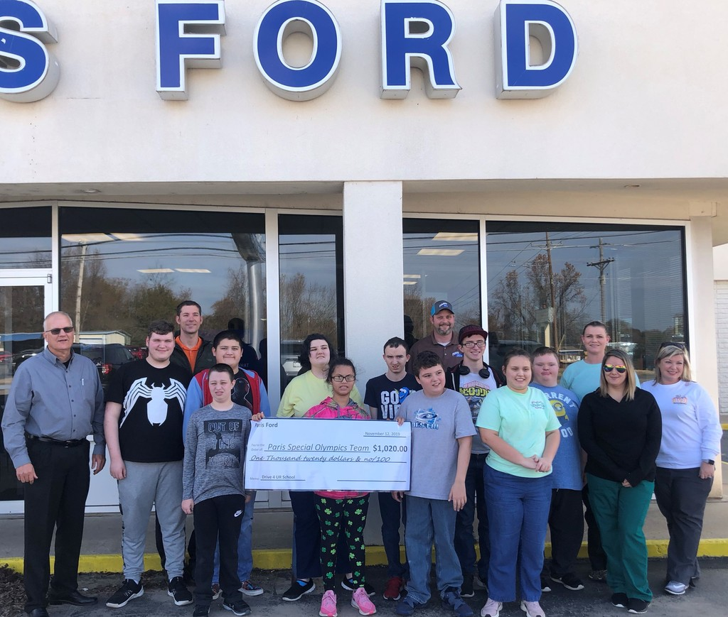 Ford donation