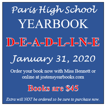 yearbook order deadline