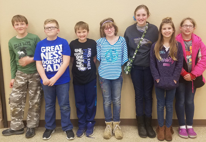 5th gr Quiz Bowl