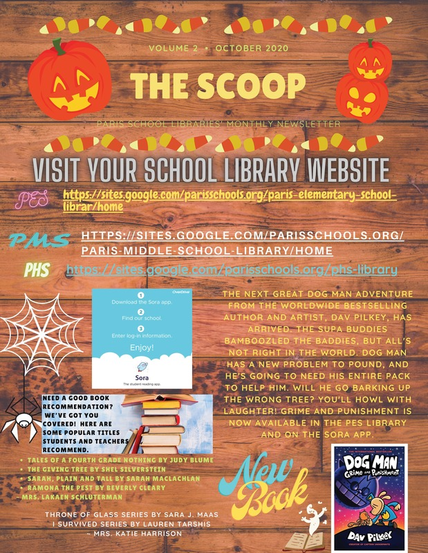 PSD Library Newsletter - October